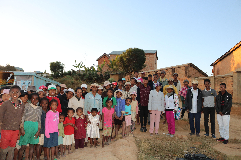 Comunidade Nova na zona rural a 50kms de Antananarivo. Foto de Joao Filimone Sambo.