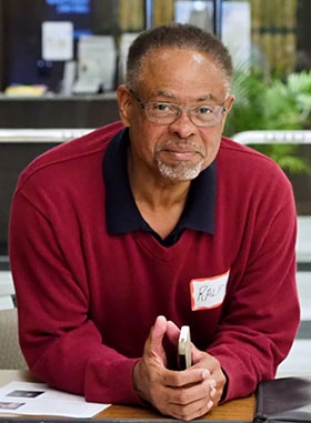 Ralph Williams, the first African American lay leader at Foundry United Methodist Church, initiated the current talks among three churches that divided in the early 19th century because of Foundry's racial discrimination. Photo by Phil Carney, Foundry United Methodist Church.