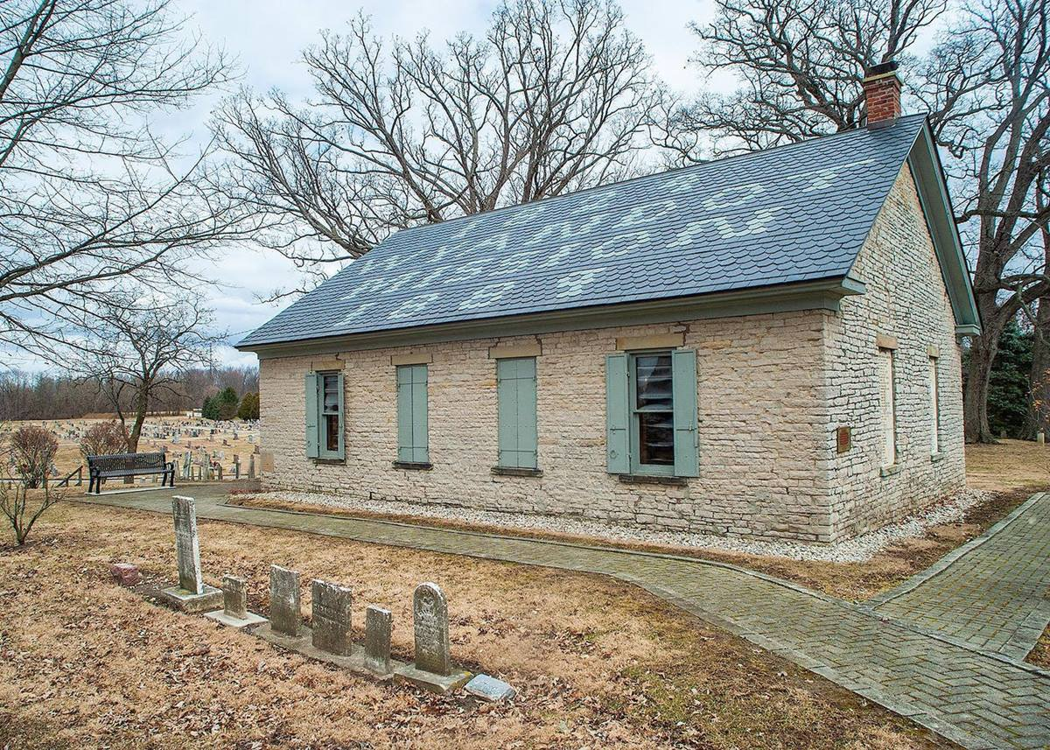 연합감리교회가 와인도트족에게 3에이커의 땅과 교회 건물과 묘지를 반환했다. 사진 제공 윌리엄 스와인, 와인도트족