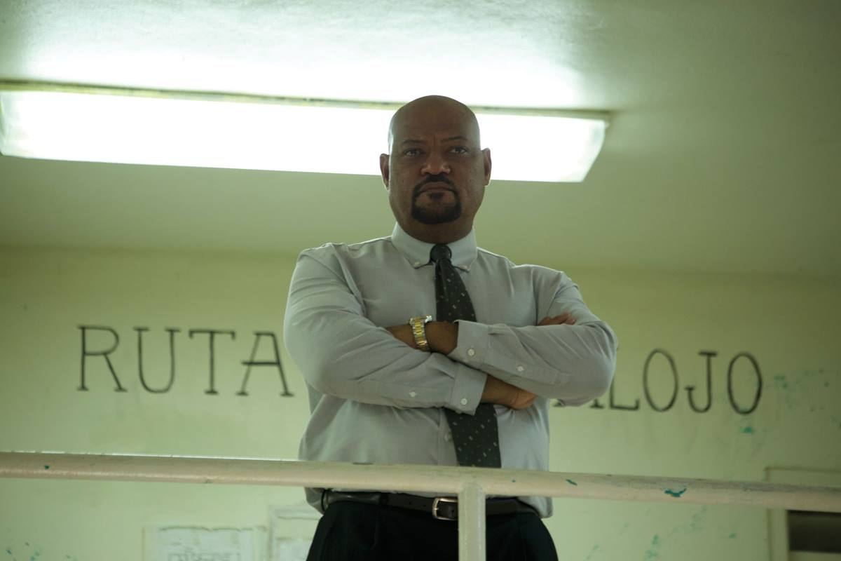 """Laurence Fishburne stars as Warden Daniel Calvin in the film """"Imprisoned,"""" about a clash between the warden and an ex-con who is tied to a tragedy in Calvin's past. Photo courtesy of Equitas Entertainment Partners."""