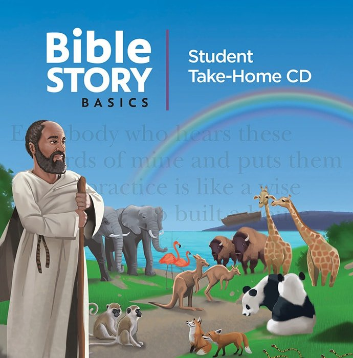The cover of the lesson plan from the Bible Story Basics curriculum for teaching the story of Noah's ark. Courtesy of the United Methodist Publishing House.
