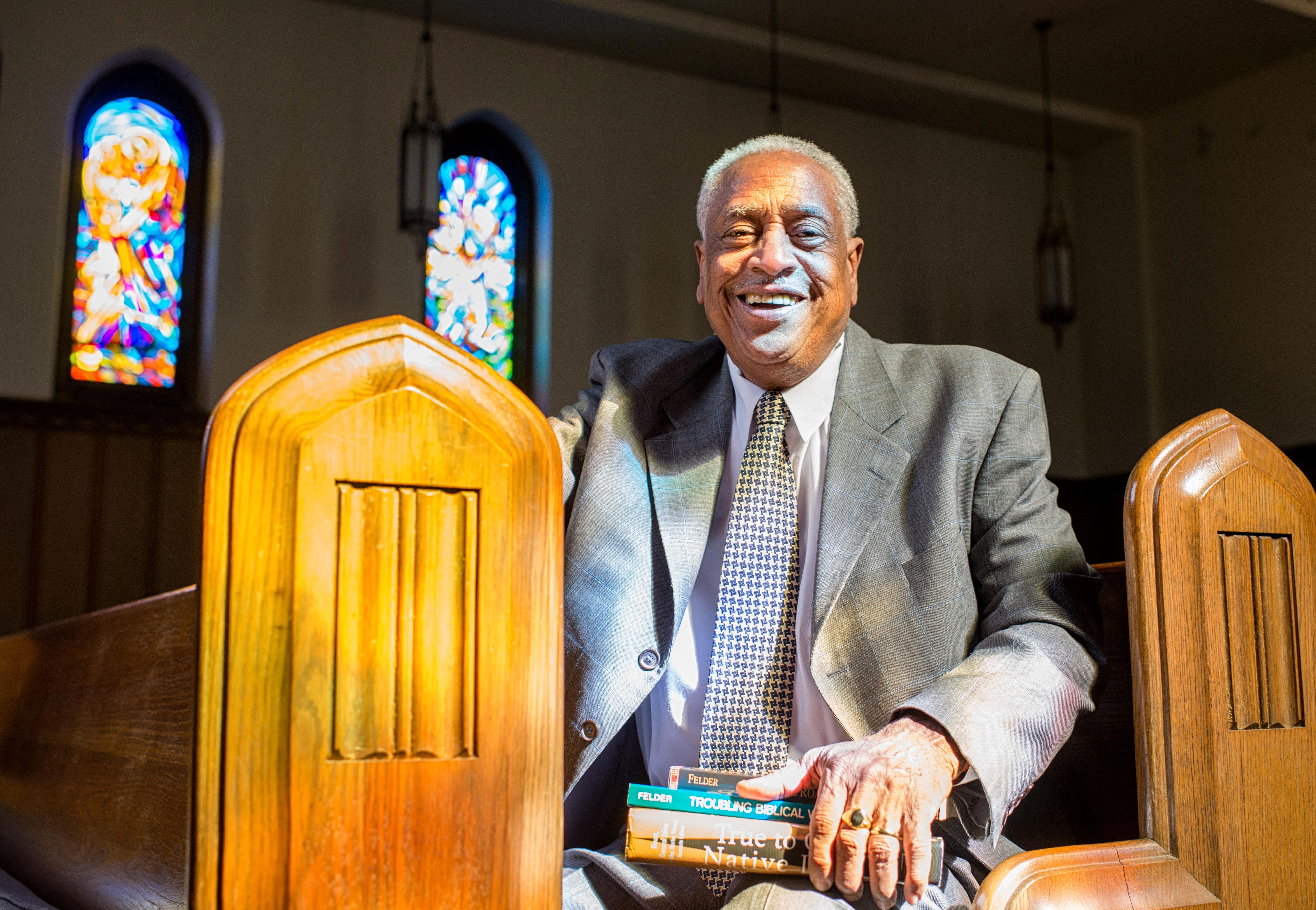 Cain Hope Felder, June 9, 1943-Oct. 1, 2019. Photo courtesy of JK Photography, Howard University