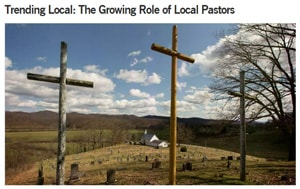 Local pastors — non-ordained, and in most cases without a seminary degree — are growing in number and taking on more roles in The United Methodist Church. Photo by Mike DuBose, UMNS.