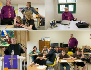 The Rev. Michael Funkhouser leads three churches in rural West Virginia with the help of his wife Ann. Photos by Mike DuBose, UMNS.