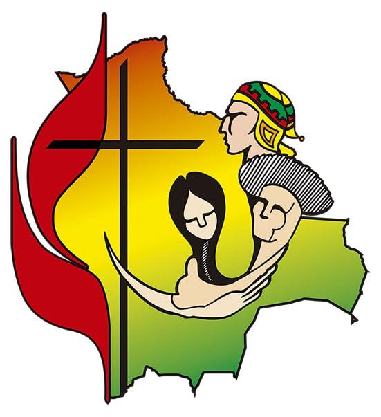 Símbolo de la Iglesia Evangélica Metodista en Bolivia.