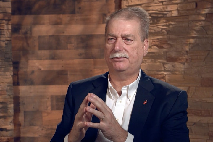 Bishop Kenneth H. Carter, president of the Council of Bishops, reflects on the Commission on a Way Forward, reaction to the special 2019 General Conference and expectations for General Conference 2020. Video image courtesy of UM News.