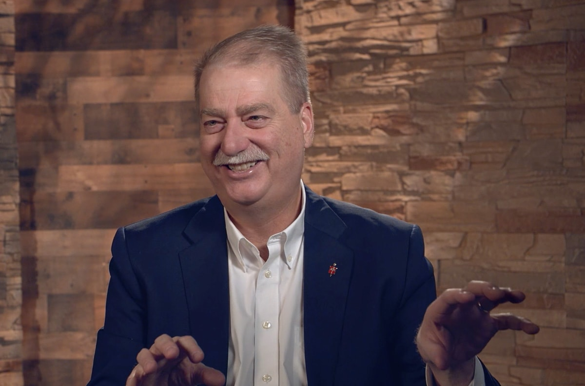 Bishop Kenneth H. Carter, president of the Council of Bishops, discusses his ideas for the interim time as the church works toward its future. He proposes a moratorium on the complaint process related to LGBTQ infractions alongside a loosening of the trust clause. Video image courtesy of UM News.
