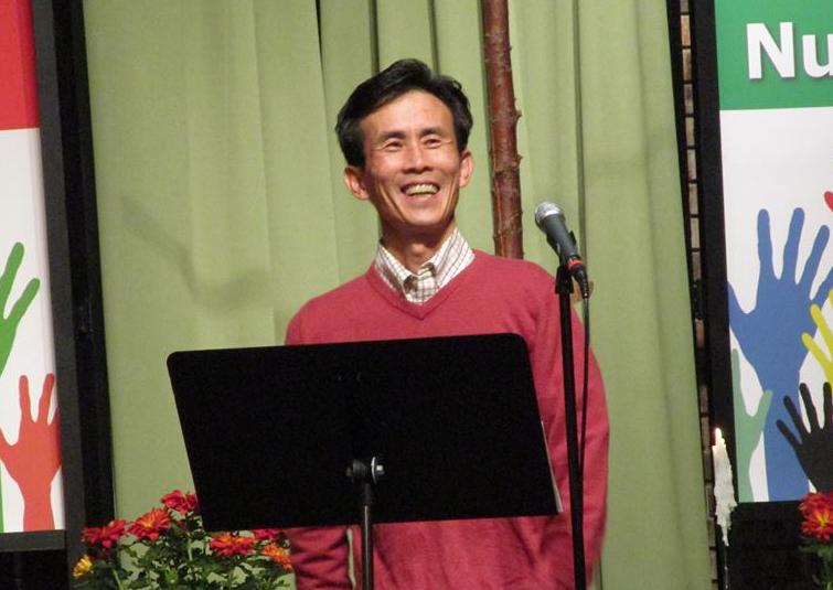 도은배 목사가 예배 중 설교하는 모습. 사진 제공, 도은배 목사.