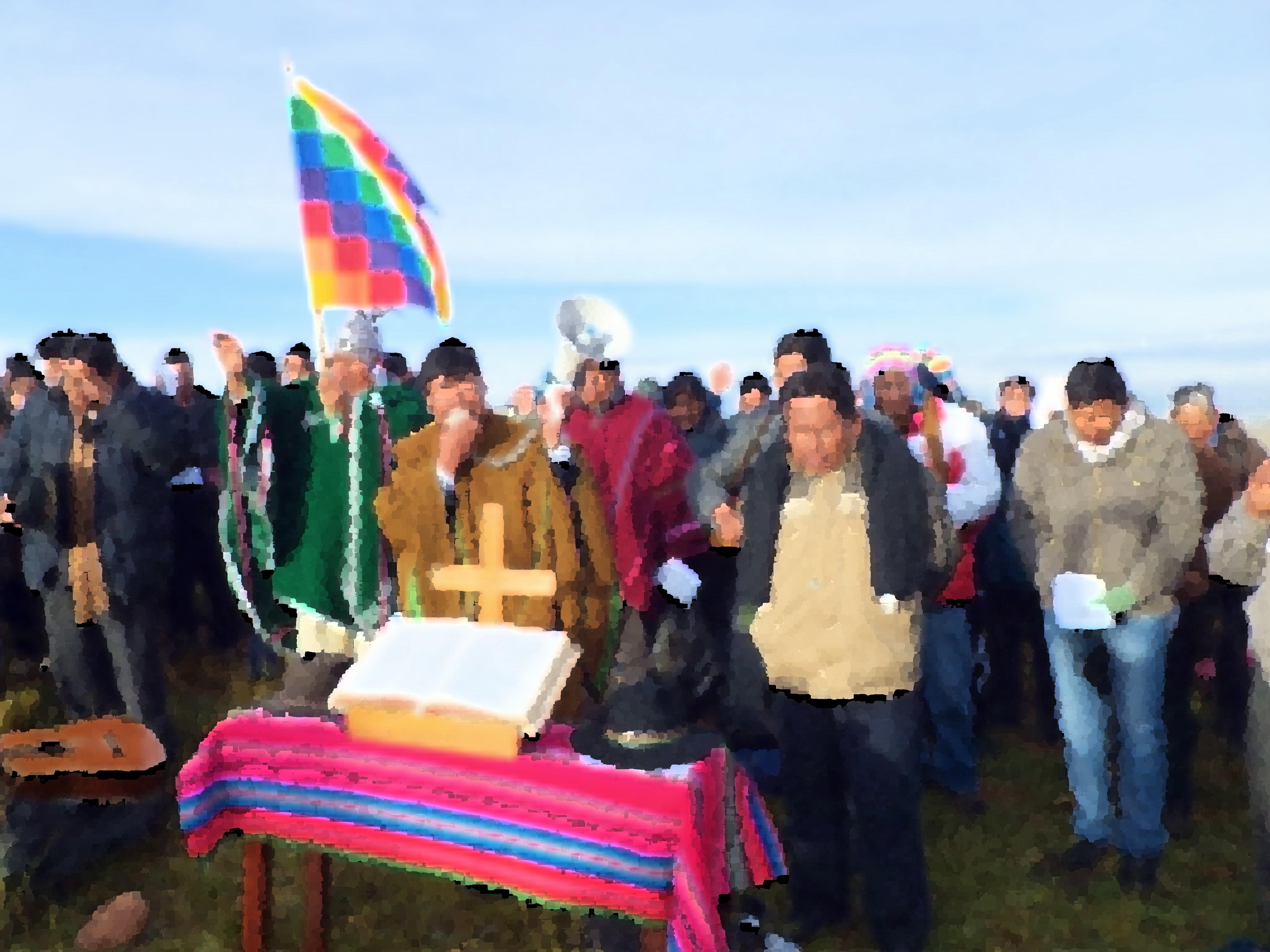 El Comité Ejecutivo de la Iglesia Evangélica en Bolivia (IEMB) hace un llamado a la paz y al encuentro, ante la situación de incertidumbre en el país, después de la renuncia del presidente Evo Morales. Fotocomposición Rev. Gustavo Vasquez, Noticias MU.
