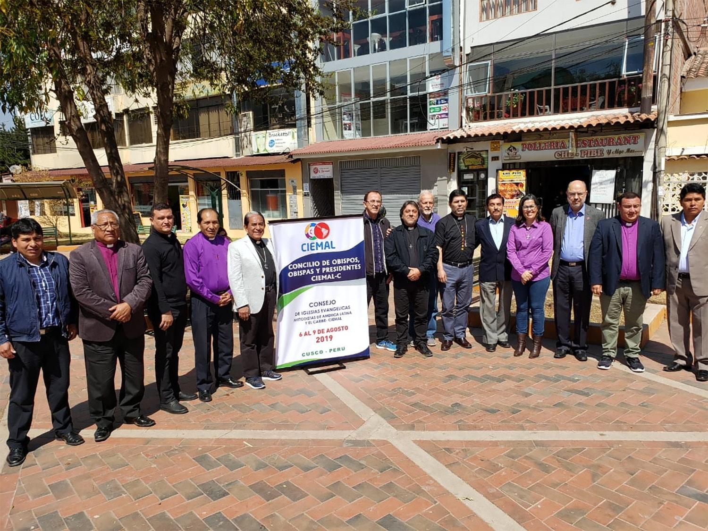 Consejo de Obispos, Obispas y Presidentes de las Iglesias Evangélicas Metodistas de América Latina y el Caribe. Foto cortesía de CIEMAL.