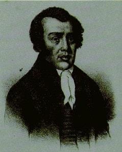 리차드 알렌, 듀발의 판화, 1830. 사진 연합감리교회 교회역사보존위원회 제공.