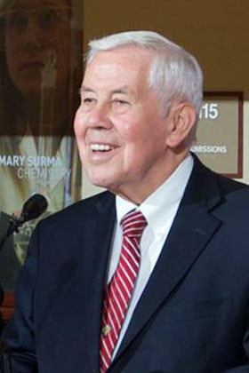 Richard Lugar. Photo courtesy of the University of Indianapolis. UM News remembers notable United Methodists who died in 2019.