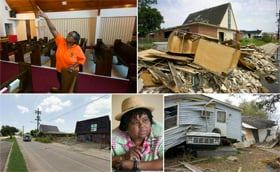 New Orleans' 9th Ward was one of hardest-hit areas of the city during Hurricane Katrina and the pace of recovery there has been slow. See what the area looks like today and meet some of the people committed to helping it come back.