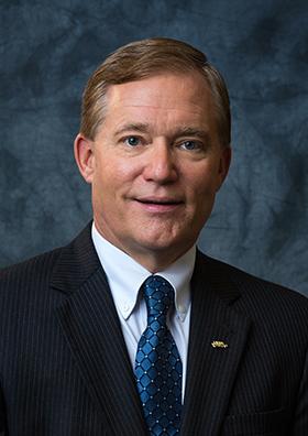 Scott Miller. President of Virginia Wesleyan University and NASCUMC. Photo by Juan Limtiaco, courtesy of Virginia Wesleyan University.