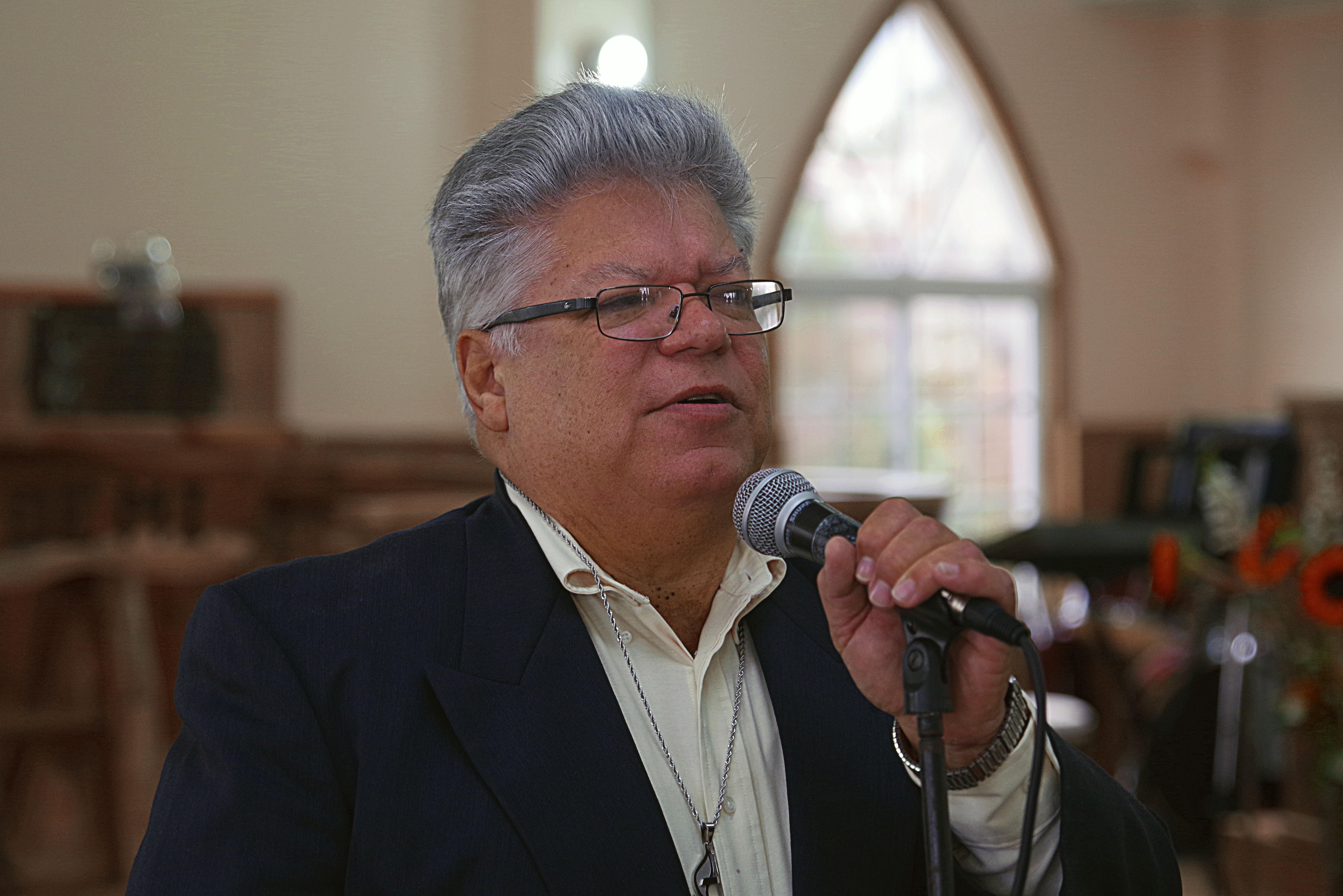 Rev. José Roberto Peña, Superintendente de la Misión Metodista de Honduras. Rev. Gustavo Vasquez. Noticias MU.