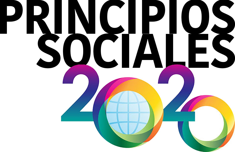 Logo de Principios Sociales de la Iglesia Metodista Unida. Ilustración cortesía de GBGS. Version en español por Rev. Gustavo Vasquez, Noticias MU