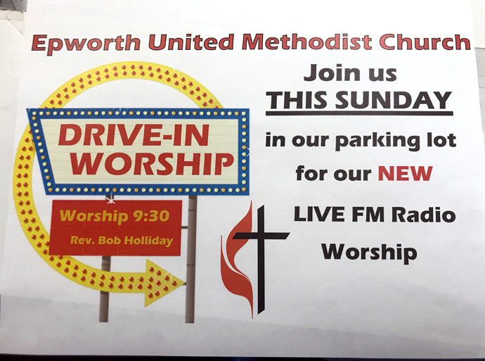 As part of its coronavirus response, Epworth United Methodist Church in Phoenix plans to use its newly purchased radio transmitter to do a low-watt FM sbroadcast of Sunday worship. Photo courtesy of Epworth United Methodist Church.