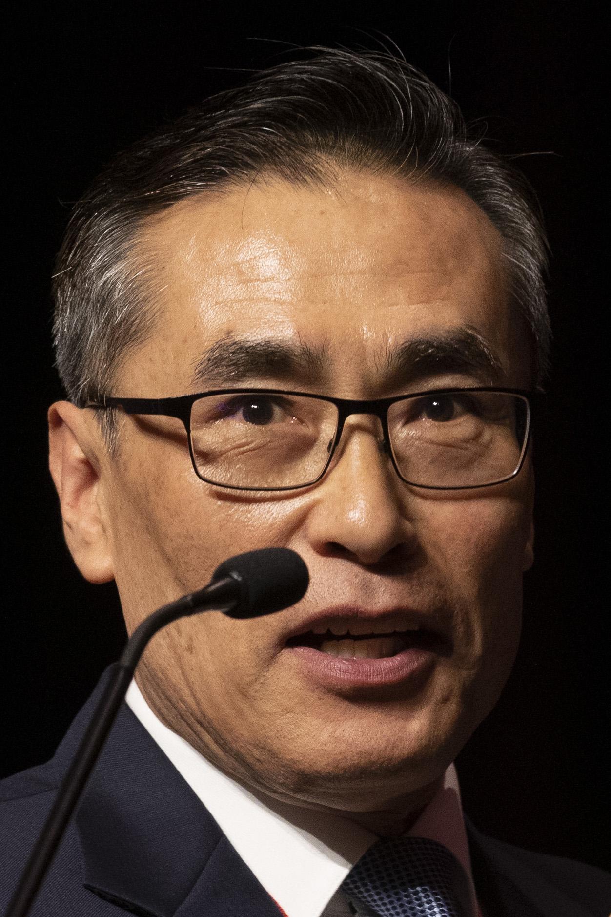 O Rev. Thomas Kim. Foto de Kathleen Barry, Notícias MU.
