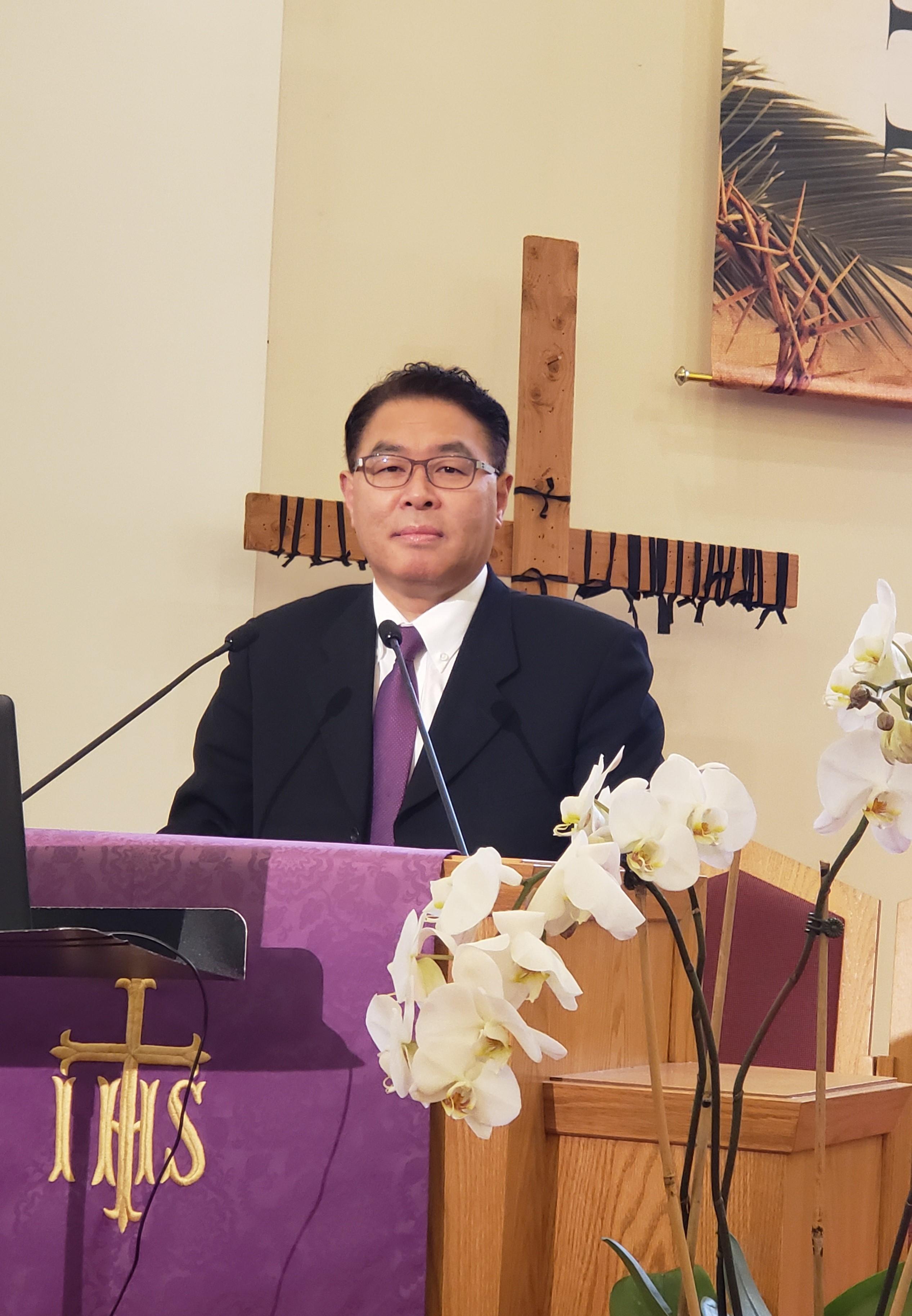 미드허드슨 한인연합감리교회 이용연 목사님