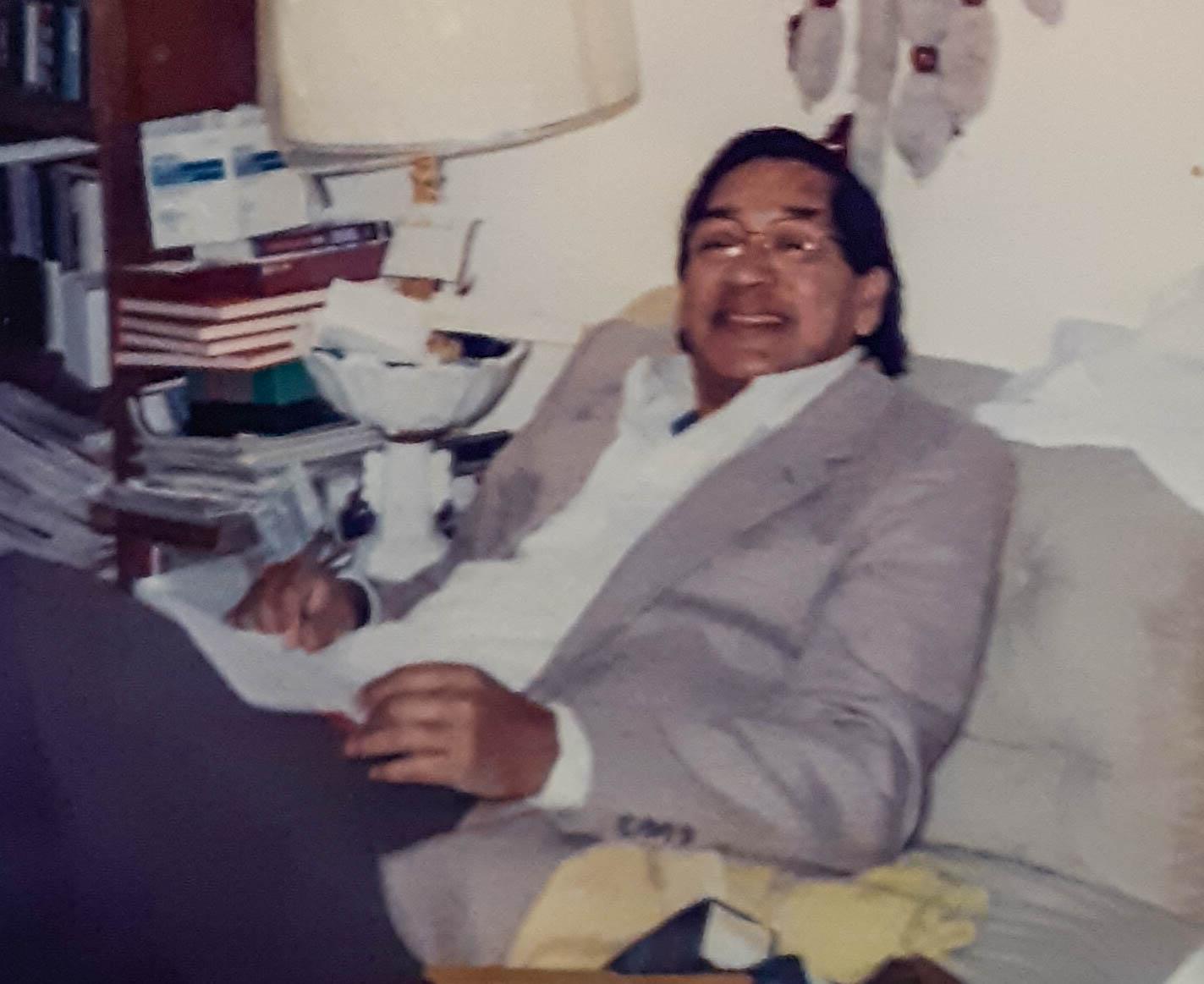 Raymond Johnson, marido de Anne Marshall, foi identificado entre as 168 pessoas que morreram no bombardeio do edifício federal Alfred P. Murrah em 1995 em Oklahoma City. Foto cortesia da Conferência Anual Missionária Indiana de Oklahoma.