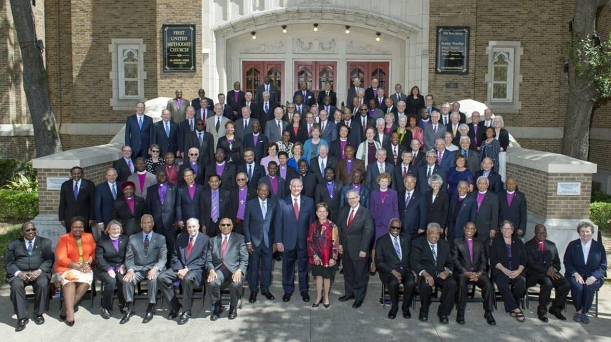 Les évêques Méthodistes Unis assurent l'encadrement spirituel de plus 12 millions de Méthodistes Unis dans le monde. Photo offerte par l'Église Méthodiste Unie.