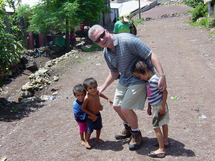 Admiral Brett Giroir, currently leading the federal effort to expand coronavirus testing, has in years past gone on mission trips to Honduras with his wife Jill and fellow members of Lovers Lane United Methodist Church in Dallas. Giroir is a pediatrician as well as a public health specialist. Photo courtesy of Jill Giroir.