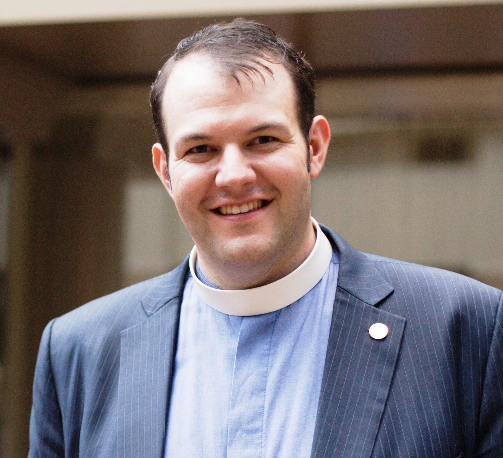 Rev. Mathew Laferty, nuevo Director de la Oficina Ecuménica Metodista de Roma. Foto cortesía de la Iglesia Metodista Unida de Habla Inglesa en Viena.