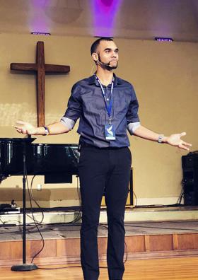 The Rev. Nathan Adams, lead pastor of Park Hill United Methodist Church in Denver, Colorado. Photo courtesy of the Rev. Adams.