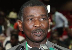 Gaspar Domingos, Bispo Residente da Conferência de Oeste de Angola. Foto de Arquivo, de Orlando da Cruz