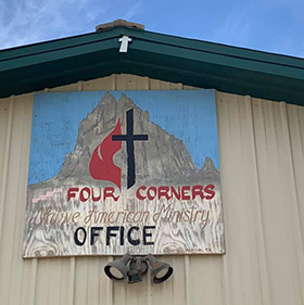 The Four Corners Native American Ministry serves the Navajo Nation from its office in Shiprock, N.M. Photo courtesy of the Four Corners Native American Ministry.