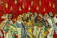 Pentecost mosaic Image by Holger Schué from Pixabay 1500