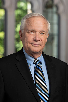 The Rev. Will Willimon is professor of the practice of Christian ministry at Duke Divinity School. Photo by Les Todd, Duke University.
