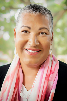 The Rev. Joy J. Moore is associate professor of Biblical preaching at Luther Seminary. Photo courtesy of Luther Seminary.