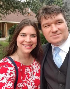 Heather and Mark Hicks. Foto cortesía de la Conferencia Anual de Holston.