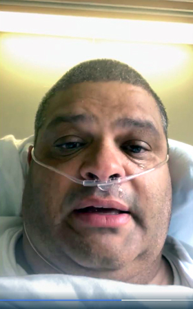The Rev. Dunford Cole is a United Methodist pastor in south Alabama who recently contracted the coronavirus. He shared an emotional message from his hospital room on Facebook Live. Video screen grab courtesy of the Rev. Cole via Facebook by UM News.