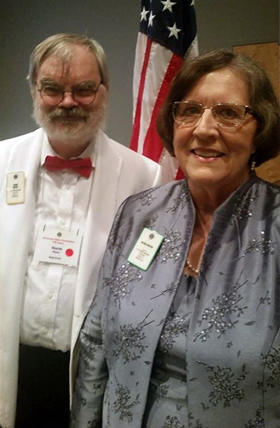 The Rev. Norm Moyer (left) and the Rev. Bonda Moyer, retired United Methodist pastors in the Arkansas Conference. Norm Moyer died from COVID-19 on May 11. Photo courtesy of Bonda Moyer.