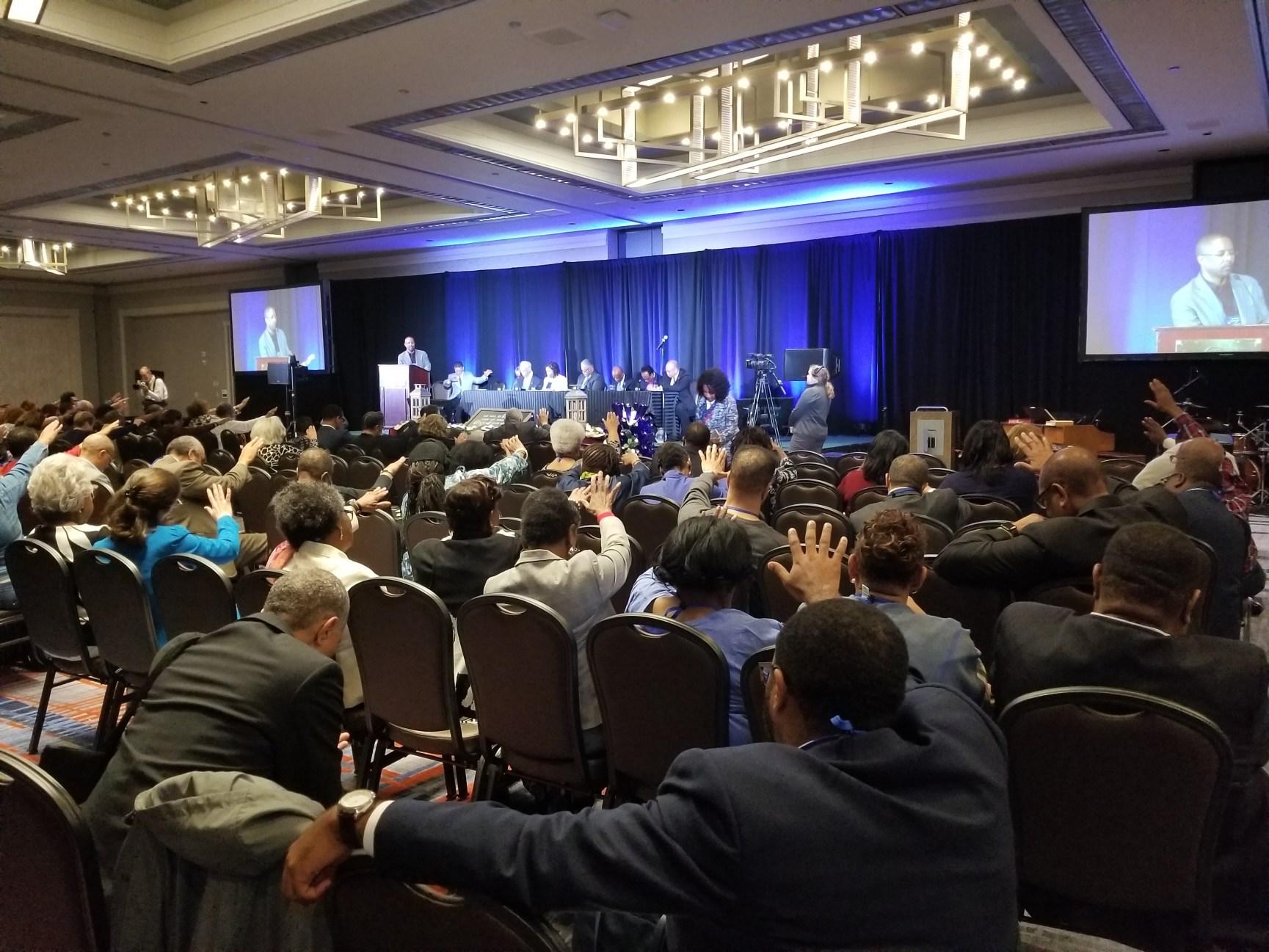 """O caucus afro-americano """"Metodistas Negros para Renovação da Igreja (BMCR)) tem sua 54ª Assembléia planejada para março próximo de 2021. Foto cedida por BMCR"""""""