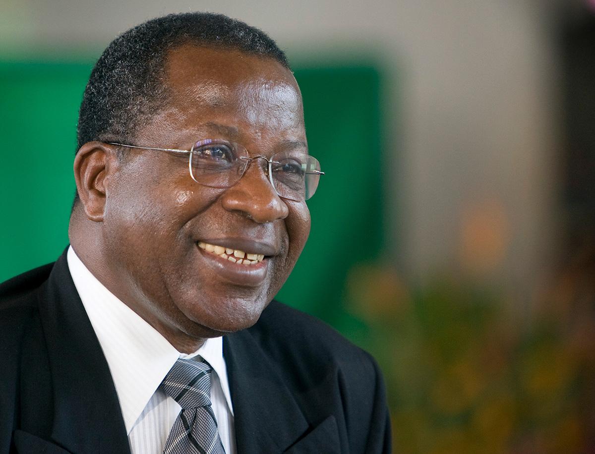 Yed Esaie Angoran, líder clave de la Iglesia Metodista Unida en Costa de Marfil y la denominación global, murió el 13 de junio. Tenía 73 años. Foto de archivo de 2008 de Mike DuBose, Noticias MU.