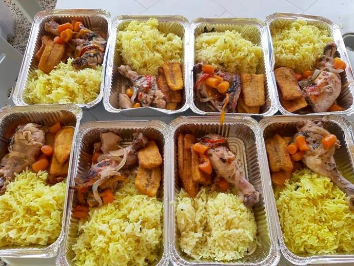 Tipo e qualidade das refeições servidas  pelas jovens mulheres metodistas a Oncologia. Luanda, foto de Orlando da Cruz.