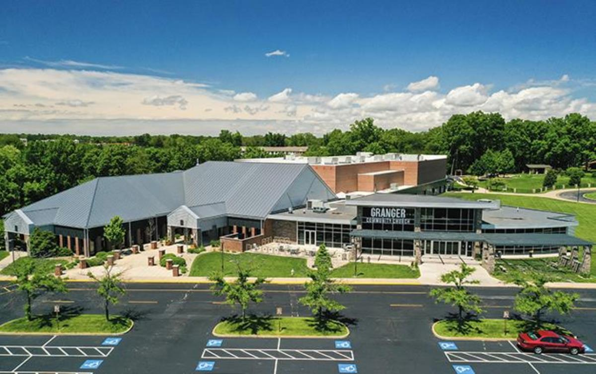 A view of the Granger, Ind., campus of Granger Community Church, which has left The United Methodist Church. It has been one of the denomination's largest and best-attended churches, but leaders wanted to control who would be the next pastor. Photo courtesy of Granger Community Church.