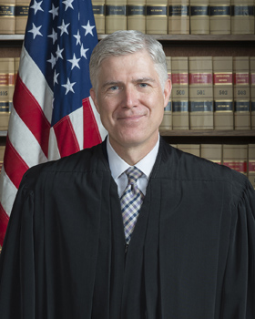 Associate Justice Neil M. Gorsuch. 2017 file photo by Franz Jantzen, Collection of the Supreme Court of the United States