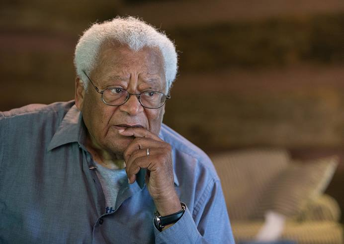 The Rev. James Lawson says the Black Lives Matter movement is the most important nonviolent campaign since the civil rights movement. 2016 File photo by Mike DuBose, UM News.