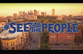"""This is the title graphic from """"See All the People,"""" a video produced by Discipleship Ministries as part of a new disciple-making initiative. Video image courtesy of Discipleship Ministries."""