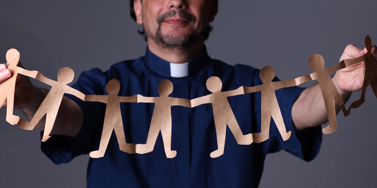 La pandemia del COVID-19 ha presentado desafíos únicos para el censo de los Estados Unidos este año. La Iglesia Metodista Unida Robbinsville es una de las iglesias que intenta asegurar que todos/as cuenten. Ilustración fotográfica de Kathleen Barry, Noticias MU.