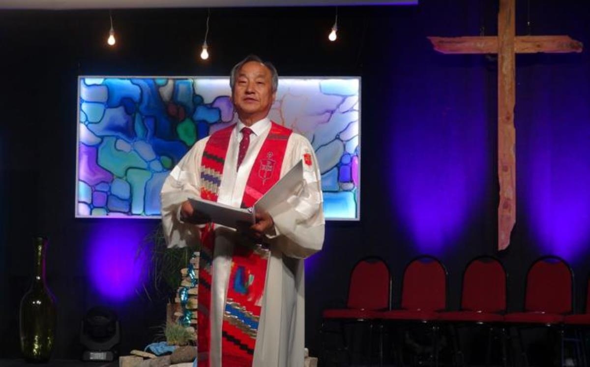 "Bishop Hee-Soo Jung of the Wisconsin Conference called for a ""heart of peace"" while pursuing racial justice after the shooting of Jacob Blake during an arrest Aug. 23 in Kenosha, Wis., that left Blake paralyzed from the waist down. Photo courtesy of the Wisconsin Conference."
