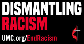 Dismantling Racism logo courtesy of United Methodist Communications