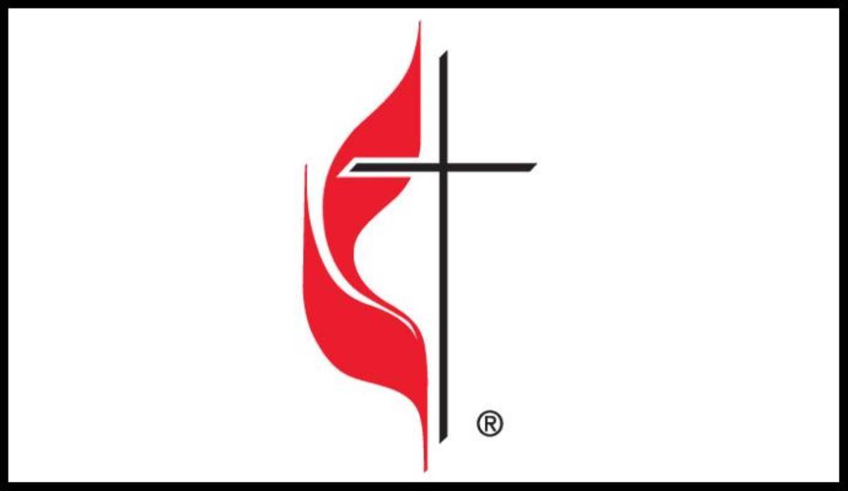 A Conferência do Norte do Texas votou em sua reunião anual de 19 de setembro para submeter a legislação à Conferência Geral de 2021 que iniciaria o processo de mudança da insígnia da Cruz e da Chama da igreja. O logotipo é cortesia da Comunicações Metodista Unida.