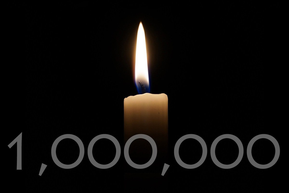 Coronavirus deaths worldwide reached 1 million on Sept. 28. United Methodists are among those who have died and those still fighting the illness. Candle image by Andreas Lischka, courtesy of Pixabay; graphic by Laurens Glass, UM News.
