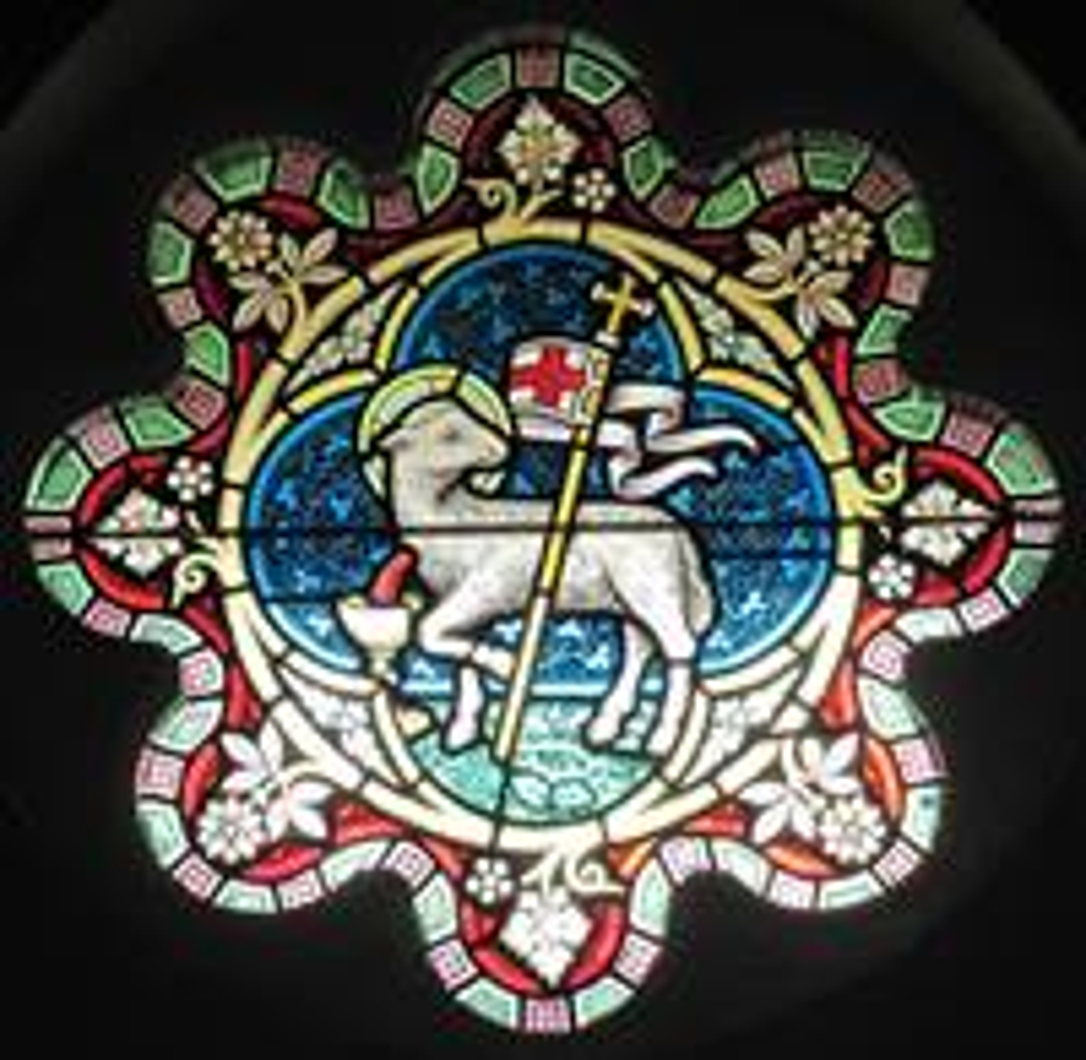 영국 하이랜즈 칼리지의 스테인드글라스. 출처, 위키피디아 커먼스. 사진, 맨 뷔.