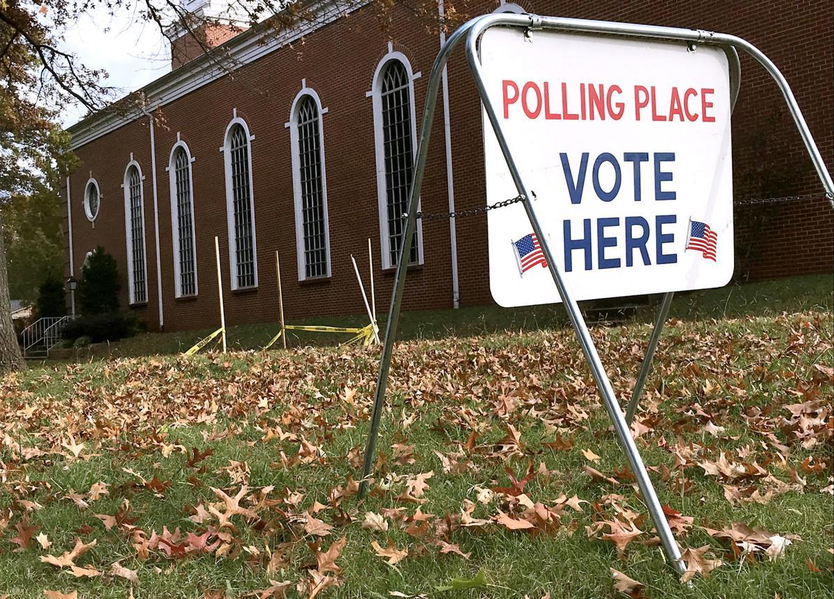 Un letrero al frente de la Iglesia Metodista Unida de New Haven en Tulsa, estado de Oklahoma, indica que es un centro electoral donde los votantes pueden sufragar. Foto: cortesía del Concilio de Obispos/as de La IMU tomada por John Clanton, Tulsa World.